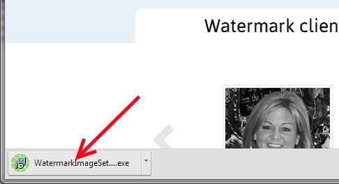 Run the TSR Watermark setup program